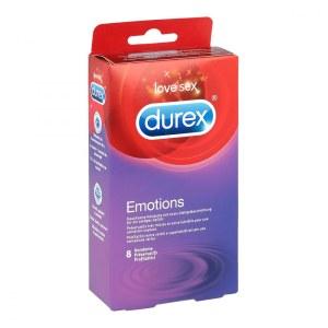 Durex/杜蕾斯 EMOTIONS避孕套 装 6只 安全套计生用品超薄敏感