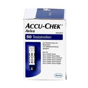 德国ACCU-CHEK Aviva 血糖仪试纸 50片试纸