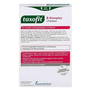 德国Taxofit 维他命复合片 含维生素B群 维生素C及烟酸 40片