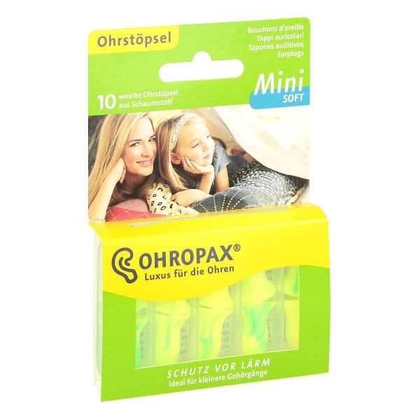 Ohropax mini soft 防噪音隔音柔软耳塞 睡眠耳塞