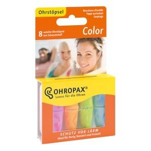 Ohropax 彩色泡沫塑料耳塞 8支/套