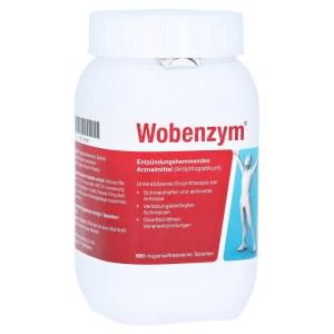 德国Wobenzym 高纯度改善关节肌肉血液循环酵素 (800 Stk)
