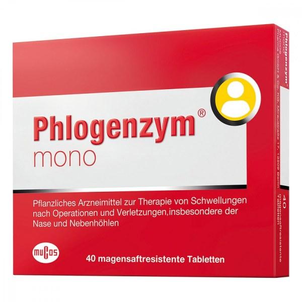 德国Phlogenzym mono 薄膜包衣片剂 (40 Stk)