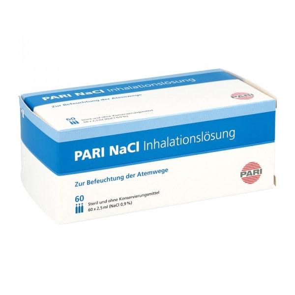 德国Pari 帕瑞雾化吸入盐水安瓶 (60X2.5 ml)