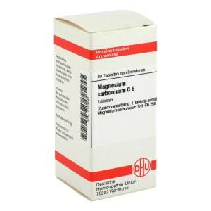 Magnesium Carbonicum C 6 Tabletten