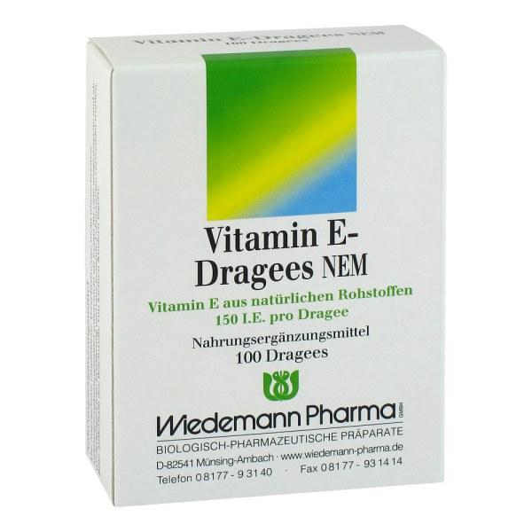 Vitamin E Dragees Nem