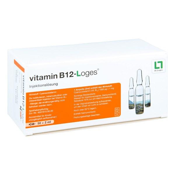 Vitamin B12 Loges Injektionslösung Ampullen