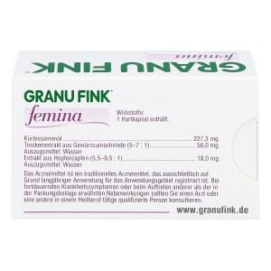 德国GRANU FINK 女性膀胱功能修复胶囊(30 粒)