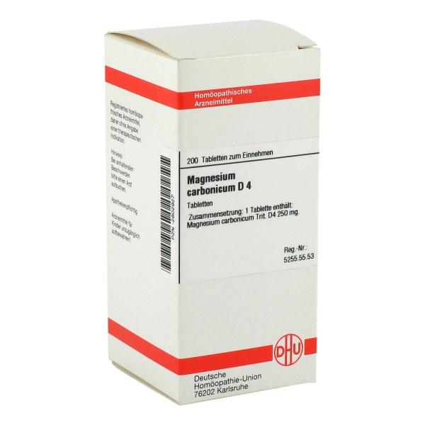 Magnesium Carbonicum D 4 Tabletten