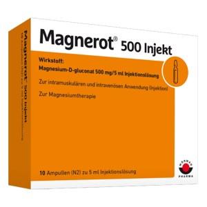 Magnerot 500 Injekt Ampullen