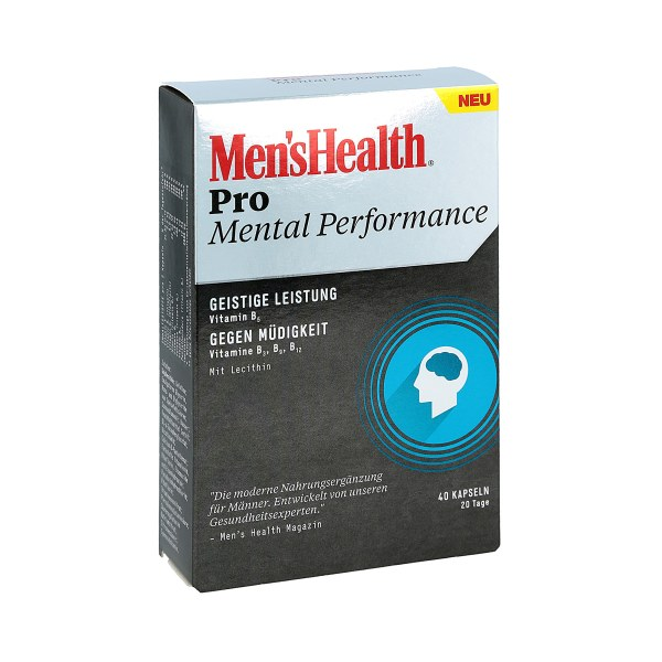Men's Health Pro Mental Performance Kapseln