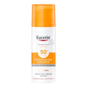 Eucerin Sun Cc Creme getönt hell Lsf 50+
