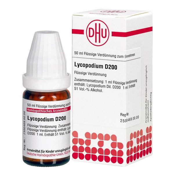 Lycopodium D 200 Dilution