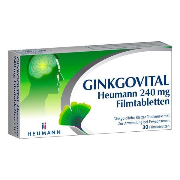 GINKGOVITAL Heumann 240mg