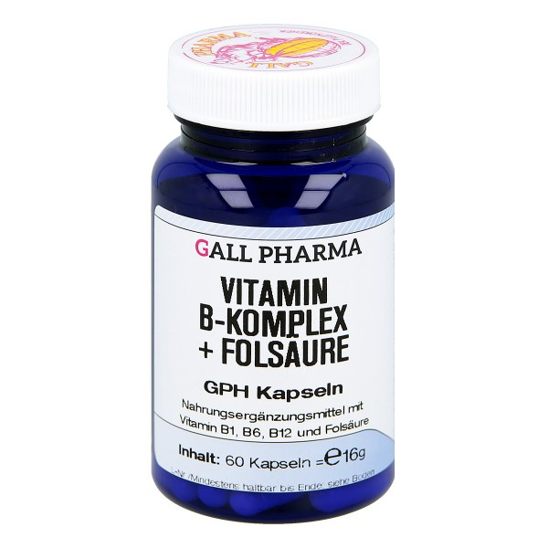 Vitamin B Komplex+folsäure Kapseln