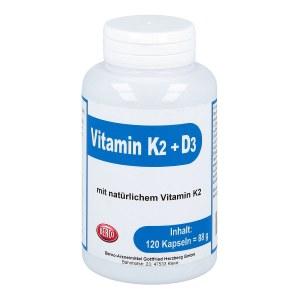 Vitamin K2+d3 Berco Kapseln