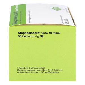 Magnesiocard forte 10 mmol Pulver