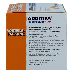 Additiva Magnesium 375 mg Sticks