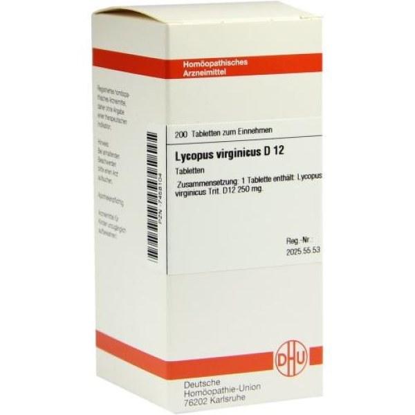 Lycopus Virg. D 12 Tabletten