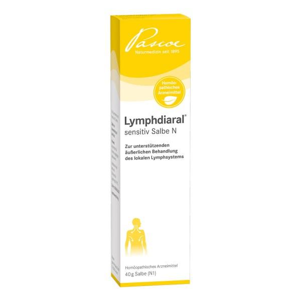 Lymphdiaral Sensitiv Salbe N