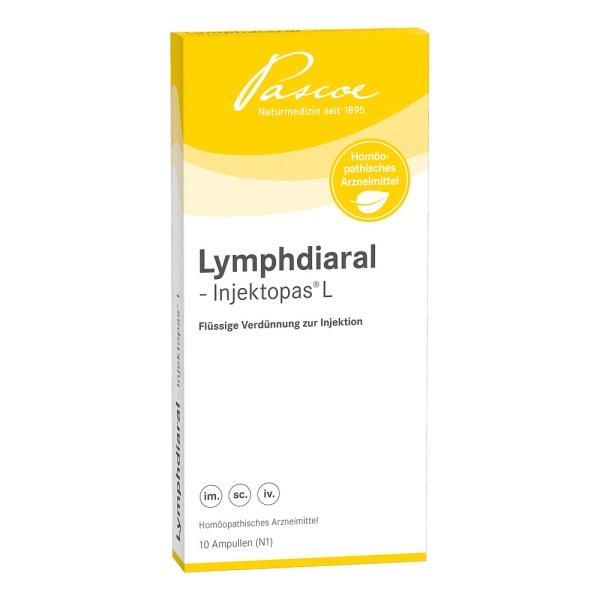 Lymphdiaral Injektopas L Ampullen