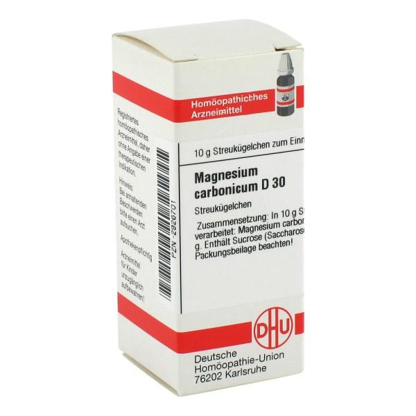 Magnesium Carbonicum D 30 Globuli
