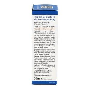 Vitamin D3 K2 öl Doktor jacob's Tropfen