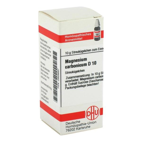 Magnesium Carbonicum D 10 Globuli