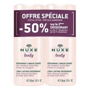 Nuxe Body Deodorant Longue Duree Duo