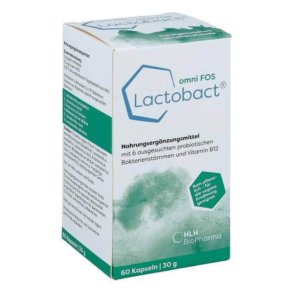 Lactobact omni Fos magensaftresistente Kapseln