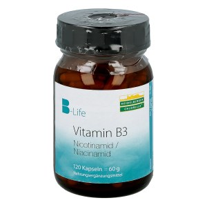 Vitamin B3 Nicotinamid Kapseln