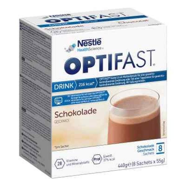 德国Optifast home 巧克力味代餐粉 (8X55 g)