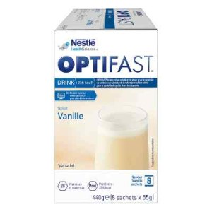 德国Optifast home 香草味代餐粉 (8X55 g)