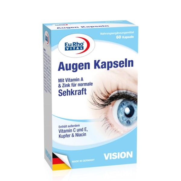 德国EuRho Vital欧维叶黄素维A护眼胶囊