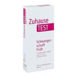 Zuhause Test Schwangerschaft früh Urin (1 stk)